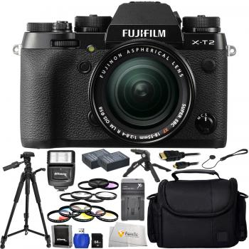 Fujifilm X-T2 + Fujifilm XF 18-55mm R LM OIS Advanced Shooter Bundle