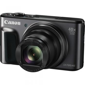 Canon PowerShot SX720 HS Digital Camera (Black)