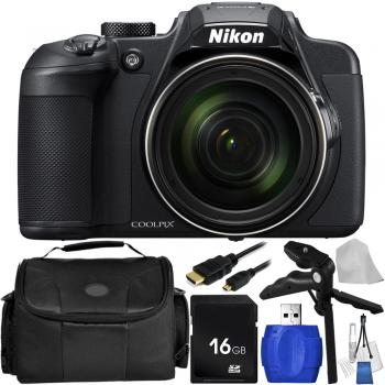 Nikon COOLPIX B700 Digital Camera (Black) with Accessory Bundle