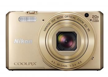 Nikon COOLPIX S7000 Digital Camera (Gold)