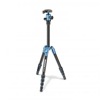 Manfrotto MKELES5BL-BH Element Small Aluminum Traveler Tripod (Blue)