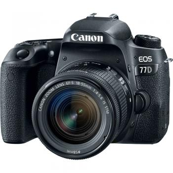 Canon EOS 77D DSLR Camera with EF-S 18-55mm f/4-5.6 IS STM Lens