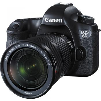 Canon EOS 6D (WG) Camera with 24-105mm f/3.5-5.6 IS STM Lens