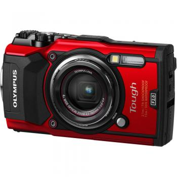 Olympus TG-5 Digital Camera (Red)