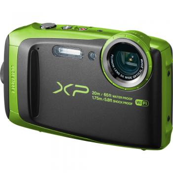 Fujifilm FinePix XP120 Digital Camera (Lime)