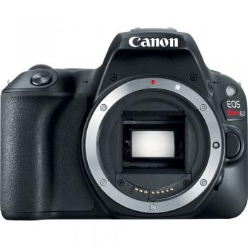 Canon EOS 200D/Rebel SL2 DSLR Camera (Black, Body Only)