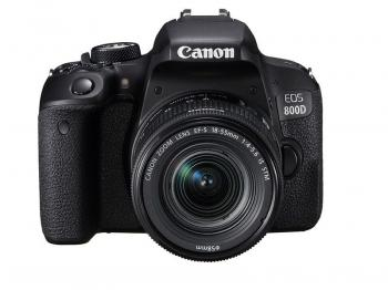 Canon EOS Rebel T7i/800D DSLR with 18-55mm STM Lens