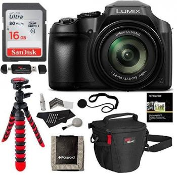 panasonic lumix dc fz80 fz82 digital camera bundle. Black Bedroom Furniture Sets. Home Design Ideas