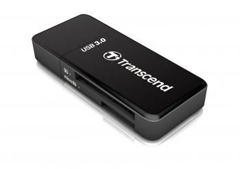 Transcend USB 3.0 SDHC / SDXC / microSDHC / SDXC Card Reader TS-RDF5K