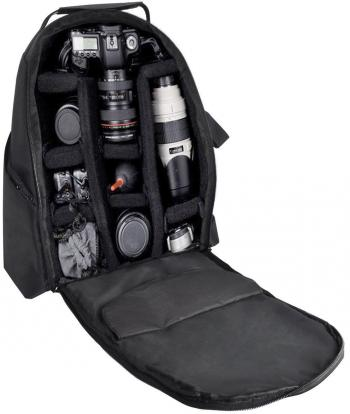 ULTIMAXX Padded Camera and Lens Backpack (Black)