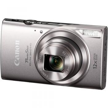 Canon PowerShot ELPH 360/IXUS 285 HS Digital Camera (Silver)