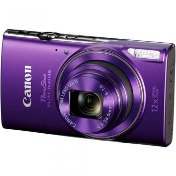 Canon PowerShot ELPH 360/IXUS 285 HS Digital Camera (Purple)