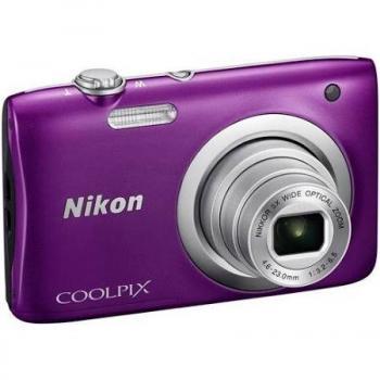 Nikon Coolpix A100 Compact Digital Camera (Purple)