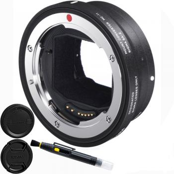 Sigma MC-11 Mount Adapter for Canon EF-Mount Lenses to Sony E Cameras Accessory Bundle