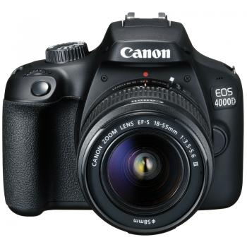 Canon EOS 4000D with EF-S 18-55mm f/3.5-5.6 III Lens