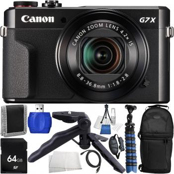 Canon PowerShot G7 X Mark II Digital Camera - Starters Bundle