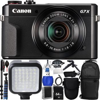 Canon PowerShot G7 X Mark II Digital Camera - Pro Bundle