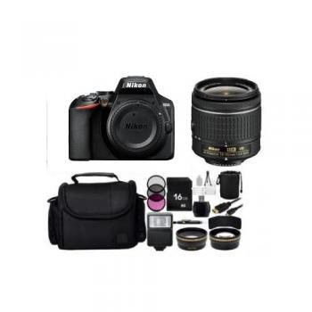 Nikon D3500 DSLR Camera with 18-55mm Lens (Black) Bundle