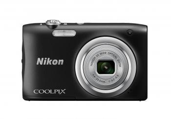 Nikon Coolpix A100 Compact Digital Camera (Black)