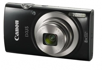 Canon IXUS 185 / Elph 180 Digital Camera (Black)