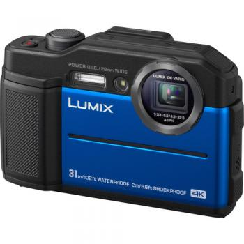Panasonic Lumix DC-TS7/FT7 Digital Camera (Blue)