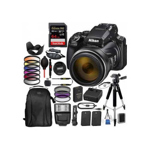 Nikon COOLPIX P1000 Digital Camera with Accessory Bundle