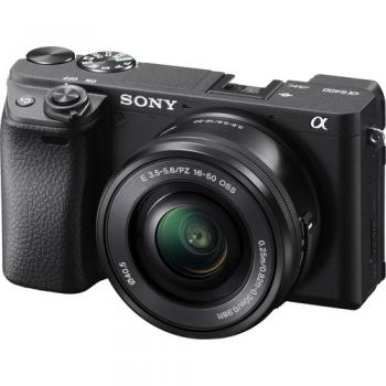 Sony Alpha a6400 Mirrorless Digital Camera with 16-50mm Lens