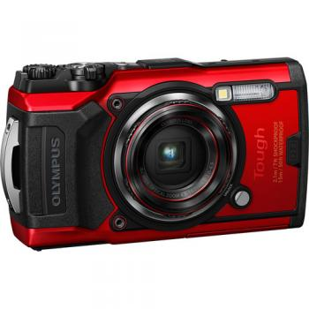 OlympusTough TG-6 Digital Camera (Red)