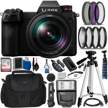 Panasonic Lumix DC-S1R Mirrorless Camera with 24-105mm Lens Extreme Bu