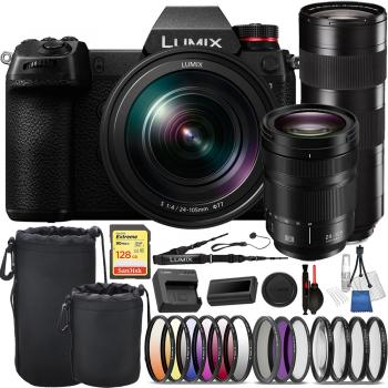 Panasonic Lumix DC-S1 Mirrorless Digital Camera with 24-105mm - DC-S1M
