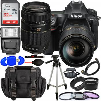 Nikon D850 DSLR Camera with 24-120mm Lens - 1585 with Accessory Bundle