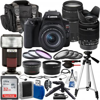 Canon EOS Rebel SL3 DSLR Camera with EF-S 18-55mm f/4-5.6 IS STM - 345