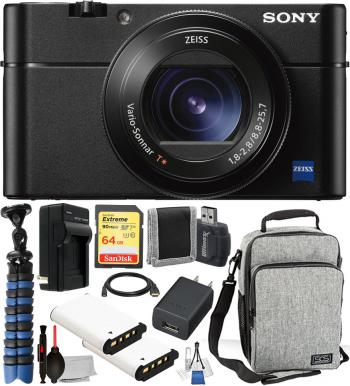 Sony Cyber-shot DSC-RX100 VA Digital Camera -DSC-RX100M5A/B with Acces