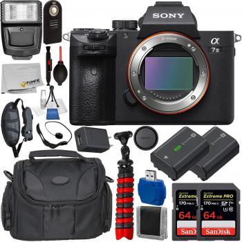Sony Alpha a7 III Mirrorless Digital Camera (Body Only) - ILCE7M3/B wi