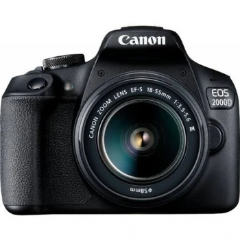 Canon EOS 2000D With EF-S 18-55mm f/3.5-5.6 DC III Lens