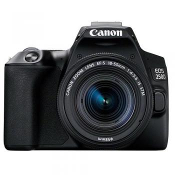 Canon EOS 250D DSLR Camera with 18-55mm Lens (Black)