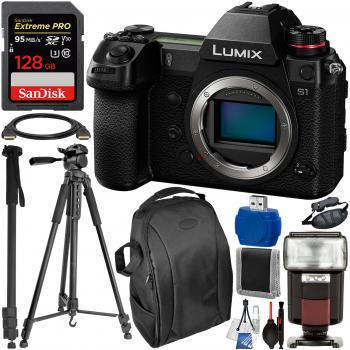 Panasonic Lumix DC-S1 Mirrorless Digital Camera (Body Only) - DC-S1BOD