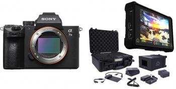 Sony Alpha a7 III Mirrorless Digital Camera (Body Only) with Atomos Shogun Inferno and Atomos Shogun Accessory Kit