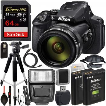 Nikon COOLPIX P900 - 26499 Digital Camera with Starter Accessory Bundl