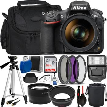 Nikon D810 DSLR Camera with 24-120mm Lens + Professional Photographers