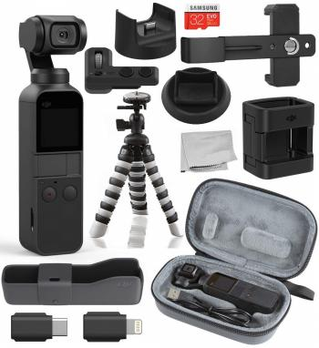 DJI Osmo Pocket - CP.ZM.00000097.02 with Expansion Kit - CP.OS.0000001