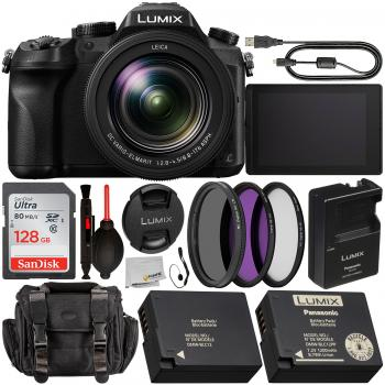 Panasonic Lumix DMC-FZ2500 Digital Camera with Starter Accessory Bundl