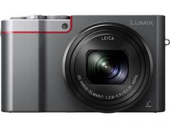 Panasonic Lumix 4K DMC-ZS110 Digital Compact Camera (Silver)
