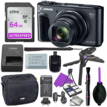 Canon PowerShot SX730 HS Digital Camera - 1791C001 Bundle