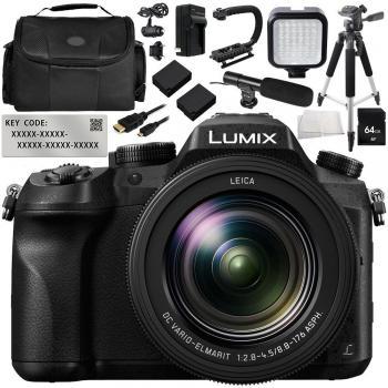Panasonic Lumix DMC-FZ2500 Digital Camera with V-Log L Function Activa