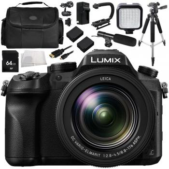 Panasonic Lumix DMC-FZ2500 Digital Camera Bundle