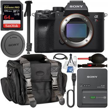 Sony Alpha a7R IV Mirrorless Digital Camera (Body Only) Bundle
