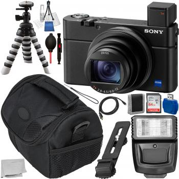 Sony Cyber-shot DSC-RX100 VII Digital Camera - DSC-RX100M7 with Must H