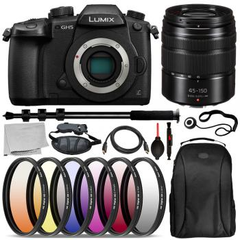 Panasonic Lumix DC-GH5 Mirrorless Micro Four Thirds Digital Camera (Bo