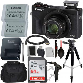 Canon PowerShot G7 X Mark III Digital Camera with Advanced Accessory B